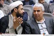 سیدضیاء هاشمی در مراسم ترحیم زنده یاد حبیبالله کاسه ساز