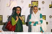 سحر صباغ سرشت و نگار آذربایجانی در مراسم افتتاحيه ششمين جشنواره بينالمللی فيلم شهر
