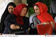 مریلا زارعی و پوران درخشنده در مراسم افتتاحيه ششمين جشنواره بينالمللی فيلم شهر