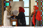 تجلیل از فاطمه معتمد آریا در مراسم افتتاحيه ششمين جشنواره بينالمللی فيلم شهر