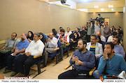 خبرنگاران حاضر در نشست خبری نخستین جشنواره بین المللی فیلم و عکس مسیر عشق