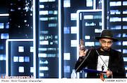 محمد کارت در اختتامیه ششمین جشنواره بینالمللی فیلم شهر