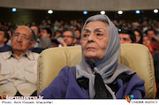 ژاله علو در اختتامیه ششمین جشنواره بینالمللی فیلم شهر