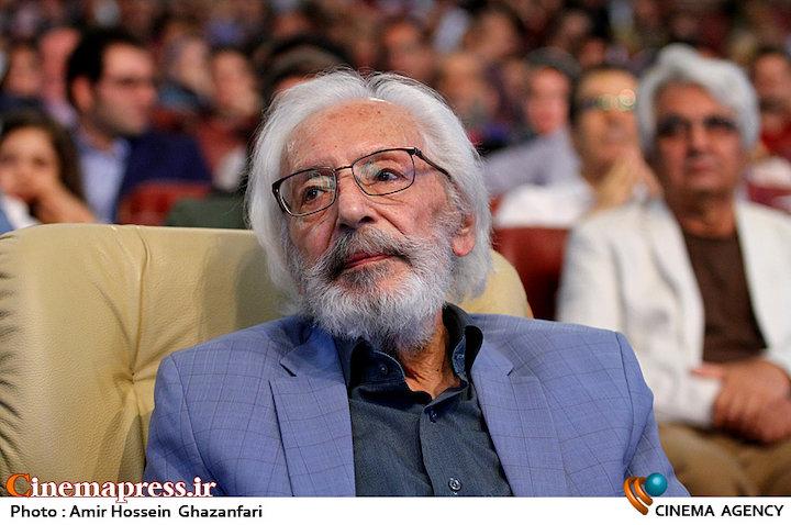 جمشید مشایخی در اختتامیه ششمین جشنواره بینالمللی فیلم شهر