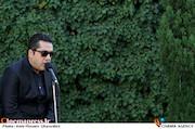 مانی رهنما در مراسم تشییع پیکر مرحوم ناصر فرهودی