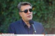 حمیدرضا نوربخش در مراسم تشییع پیکر مرحوم ناصر فرهودی
