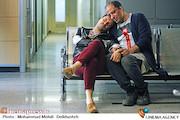 جواد عزتی و امیر جعفری در نمایی از فیلم سینمایی اکسیدان