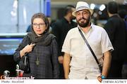 رضا عطاران و همسرش فریده فرامرزی در فدهمین جشن حافظ