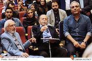 مهران مدیری، محمدعلی کشاورز و جمشید مشایخی در هفدهمین جشن حافظ