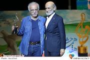 ضیاء الدین دری و عبدالله اسکندری در هفدهمین جشن حافظ