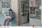 سیامک صفری در نمایی از فیلم سینمایی «کارگر ساده نیازمندیم»