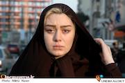 سحر قریشی در نمایی از فیلم سینمایی «کارگر ساده نیازمندیم»