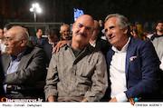 مجید مظفری و ایرج طهماسب در نوزدهمین جشن خانه سینما
