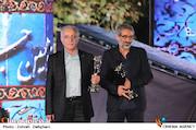 مهرداد میرکیانی و عبدالله اسکندری در نوزدهمین جشن خانه سینما