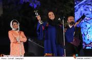شبنم مقدمی در نوزدهمین جشن خانه سینما