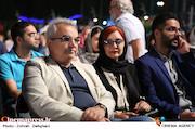 بیتا منصوری و ابوالحسن داوودی در نوزدهمین جشن خانه سینما