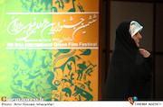 معصومه ابتکار در آیین اختتامیه ششمین جشنواره فیلم سبز ایران