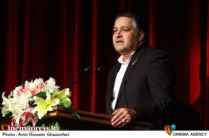 علیرضا تابش در آیین اختتامیه ششمین جشنواره فیلم سبز ایران