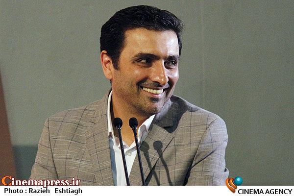 امین زندگانی در هشتمین جشن برنامهریزان و دستیاران کارگردان خانه سینما