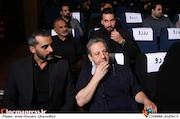 ابوالقاسم طالبی و علیرام نورایی در تقدیر از هنرمندان عرصه مقاومت و ایثار