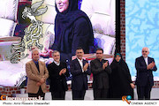 مدیران دولت در اختتامیه جشنواره فیلم فجر 35