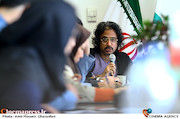 محسن شریفیان در نشست رسانهای مدیرعامل صندوق اعتباری هنر