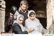 پریناز ایزدیار، رویا نونهالی و امیرحسین فتحی در فصل دوم سریال شهرزاد