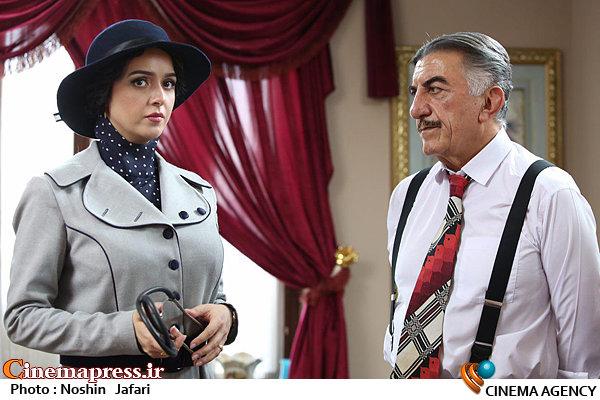 رضا کیانیان و ترانه علیدوستی در فصل دوم سریال شهرزاد