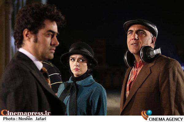 حسن فتحی، ترانه علیدوستی و شهاب حسینی در فصل دوم سریال شهرزاد