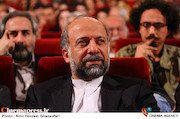 محمدمهدی حیدریان در مراسم اختتامیه سی و چهارمین جشنواره فیلم کوتاه تهران
