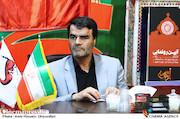 مجید آقابابایی در مراسم رونمایی از محصولات فرهنگی ستاد اربعین