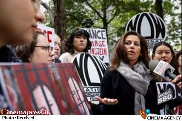 راهپیمایی علیه فساد در سینما