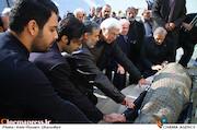 مراسم تشییع پیکر مرحوم «محمد پورستار»