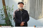 پرویز پورحسینی در مراسم تشییع پیکر مرحوم «محمد پورستار»