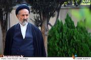 حجتالاسلام محمود دعایی در مراسم تشییع پیکر مرحوم «محمد پورستار»