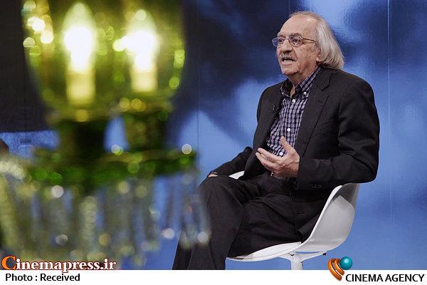 محمدعلی نجفی در برنامه تلویزیونی «چهل چراغ»