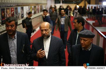 عکس/ بازدید رئیس سازمان سینمایی از جشنواره سینماحقیقت