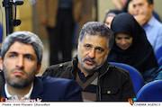 ناصر هاشم زاده در مراسم رونمایی کتاب های «منشور سینما» و «درآمدی بر سینمای استراتژیک»