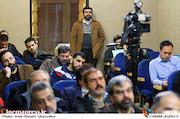 روح الله شمقدری در مراسم رونمایی کتاب های «منشور سینما» و «درآمدی بر سینمای استراتژیک»
