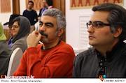 سروش صحت در مراسم اختتامیه پنجمین جشنواره نوشتار سینمایی