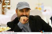 مهران احمدی در مراسم اختتامیه پنجمین جشنواره نوشتار سینمایی