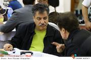 علیرضا رئیسیان در مراسم اختتامیه پنجمین جشنواره نوشتار سینمایی