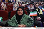 انسیه شاه حسینی در مراسم افتتاحیه هشتمین دوره جشنواره مردمی فیلم عمار