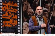 رضا برجی در اختتامیه هشتمین جشنواره مردمی فیلم عمار