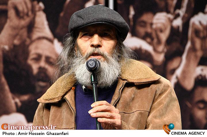 امرالله احمدجو در اختتامیه هشتمین جشنواره مردمی فیلم عمار