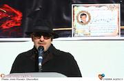 رامین حیدری فاروقی در مراسم تشییع پیکر مرحوم سید داوود سیدی گرفمی