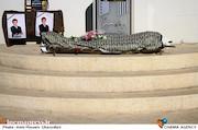 مراسم تشییع پیکر مرحوم سید داوود سیدی گرفمی
