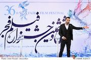 محمدحسین میثاقی در مراسم قرعهکشی جدول سینمای رسانهها در سی و ششمین جشنواره فیلم فجر