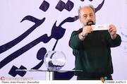 مهیار جوادی فر در مراسم قرعهکشی جدول سینمای رسانهها در سی و ششمین جشنواره فیلم فجر