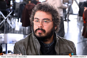 پوریا آذربایجانی در مراسم قرعهکشی جدول سینمای رسانهها در سی و ششمین جشنواره فیلم فجر